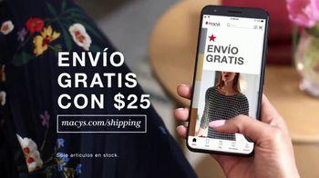 Macy's TV Spot, 'Precios más bajos: juegos de cama y trajes' [Spanish] - Thumbnail 5