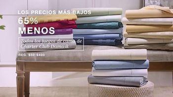 Macy's TV Spot, 'Precios más bajos: juegos de cama y trajes' [Spanish] - Thumbnail 3