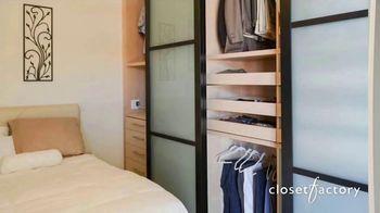Closet Factory TV Spot, 'Spending More Time at Home?' - Thumbnail 4