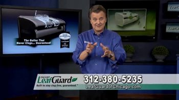 LeafGuard of Chicago Spring Blowout Sale TV Spot, 'No Matter the Weather' - Thumbnail 5