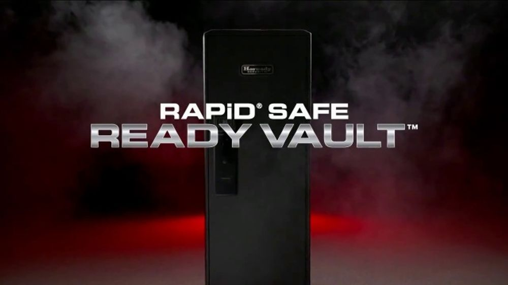 Hornady Security RAPiD Safe Ready Vault TV Commercial, 'Storage Flexibility'