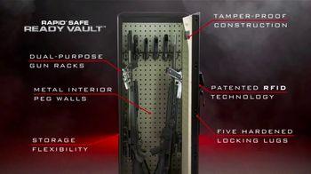 Hornady Security RAPiD Safe Ready Vault TV Spot, 'Storage Flexibility' - Thumbnail 3