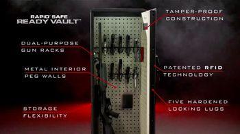 Hornady Security RAPiD Safe Ready Vault TV Spot, 'Storage Flexibility' - Thumbnail 4
