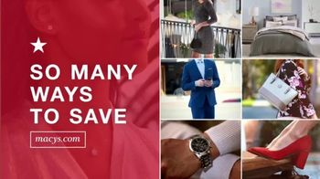 Macy's TV Spot, 'Lowest Prices of the Season: Sectional, Shoes and Fine Jewelry' - Thumbnail 1