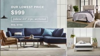 Macy's TV Spot, 'Lowest Prices of the Season: Sectional, Shoes and Fine Jewelry' - Thumbnail 2