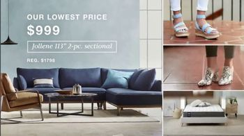 Macy's TV Spot, 'Lowest Prices of the Season: Sectional, Shoes and Fine Jewelry' - Thumbnail 3