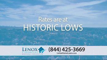 Lenox Financial Mortgage Fast Trac Loan TV Spot, 'Historic Lows' - Thumbnail 2