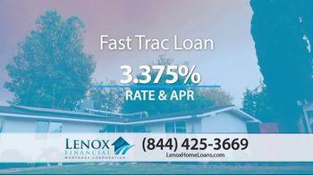 Lenox Financial Mortgage Fast Trac Loan TV Spot, 'Historic Lows' - Thumbnail 5