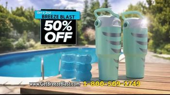 Sharper Image Breeze Blast TV Spot, 'Nowhere to Hide From the Heat' - Thumbnail 10