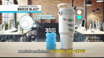 Sharper Image Breeze Blast TV Spot, 'Nowhere to Hide From the Heat' - Thumbnail 9