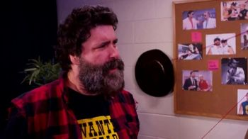 Snickers TV Spot, 'WWE Fan Favorite Commercials: Flannel and Sweats' Featuring Mick Foley - Thumbnail 4