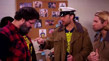 Snickers TV Spot, 'WWE Fan Favorite Commercials: Flannel and Sweats' Featuring Mick Foley - 2 commercial airings