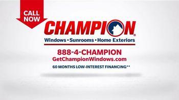 Champion Windows TV Spot, 'More Than 10 Years: 40 Percent Off' - Thumbnail 9