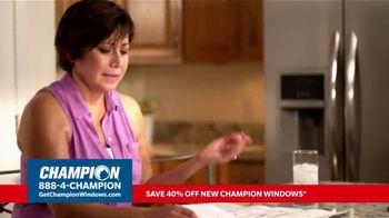 Champion Windows TV Spot, 'More Than 10 Years: 40 Percent Off' - Thumbnail 2