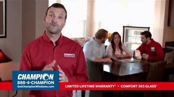 Champion Windows TV Spot, 'More Than 10 Years: 40 Percent Off' - Thumbnail 4