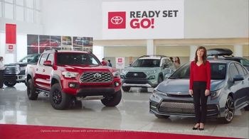Toyota Ready Set Go! TV Spot, 'Imagine Yourself: Enough' [T2]