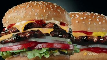 Hardee's 2 for $5 Mix and Match TV Spot, 'Charbroiled Burger Game' - Thumbnail 1