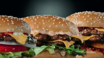 Hardee's 2 for $5 Mix and Match TV Spot, 'Charbroiled Burger Game' - Thumbnail 2