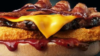 Hardee's 2 for $5 Mix and Match TV Spot, 'Charbroiled Burger Game' - Thumbnail 7