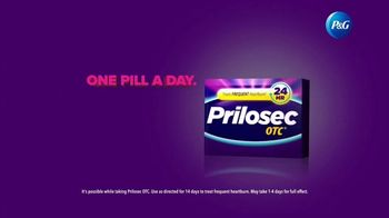 Prilosec OTC TV Spot, 'How Prilosec OTC Provides 24-Hour Heartburn Protection, With One Pill a Day' - Thumbnail 9