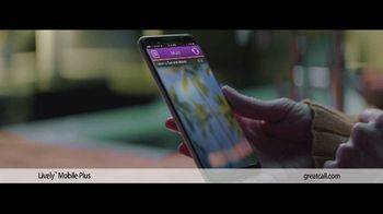 GreatCall Lively Mobile Plus TV Spot, 'My Mom' - Thumbnail 4