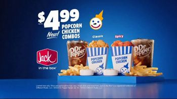 Jack in the Box Popcorn Chicken Combos TV Spot, 'Irresistible: $4.99' - Thumbnail 10