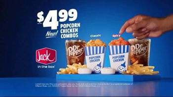 Jack in the Box Popcorn Chicken Combos TV Spot, 'Irresistible: $4.99' - Thumbnail 9