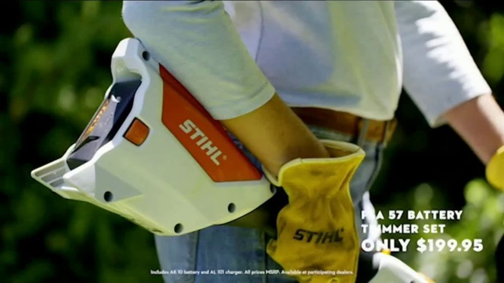 STIHL TV Commercial, 'RMA 460 Lawn Mower Double Battery Bundle & Trimmer' Song by Sacha James Collis