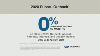 2020 Subaru Outback TV Spot, 'Where the Heart Is' Song by Workman Song [T2] - Thumbnail 10