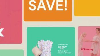 JCPenney TV Spot, 'Hop, Shop & Save: Arizona Dresses & Men's St. John's Bay Shirts' - Thumbnail 3