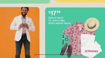 JCPenney TV Spot, 'Hop, Shop & Save: Arizona Dresses & Men's St. John's Bay Shirts' - Thumbnail 6