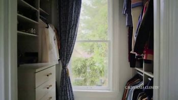 California Closets TV Spot, 'Real Customers: Jeanne & Erin' - Thumbnail 5