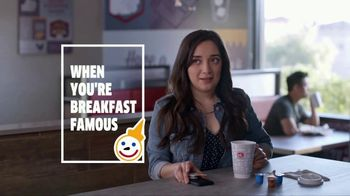 Jack in the Box Boosted Coffees TV Spot, 'Breakfast Famous: Pic' - Thumbnail 1