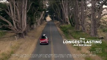 Jeep Celebration Event TV Spot, 'On the Road and Off It' Song by Old Dominion [T2] - Thumbnail 2