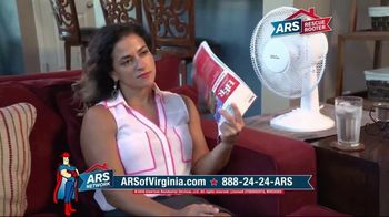 ARS Rescue Rooter TV Spot, 'Virginia: Beat the Summer Heat' - Thumbnail 2