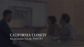 California Closets TV Spot, 'Testimonials' - Thumbnail 8