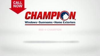 Champion Windows TV Spot, 'Siding: Enhance Your Curb Appeal' - Thumbnail 9