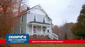 Champion Windows TV Spot, 'Siding: Enhance Your Curb Appeal' - Thumbnail 1