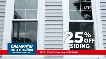 Champion Windows TV Spot, 'Siding: Enhance Your Curb Appeal' - Thumbnail 2