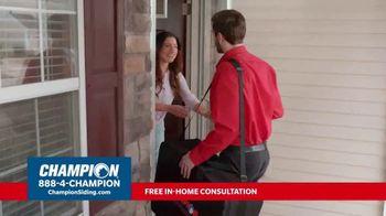Champion Windows TV Spot, 'Siding: Enhance Your Curb Appeal' - Thumbnail 3