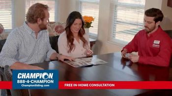 Champion Windows TV Spot, 'Siding: Enhance Your Curb Appeal' - Thumbnail 4