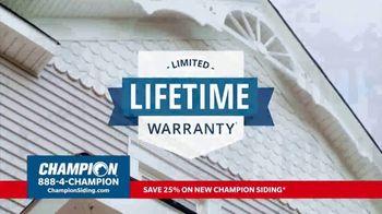 Champion Windows TV Spot, 'Siding: Enhance Your Curb Appeal' - Thumbnail 6