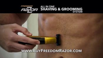 Freedom Razor TV Spot, 'Shave, Trim and Edge All With One Handle' Featuring Michael Irvin - Thumbnail 3