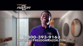 Freedom Razor TV Spot, 'Shave, Trim and Edge All With One Handle' Featuring Michael Irvin - Thumbnail 8