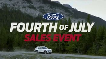Ford Fourth of July Sales Event TV Spot, 'Bigger and Better' [T2]