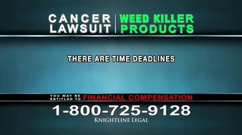 Knightline Legal TV Spot, 'Weed Killer Products' - Thumbnail 10