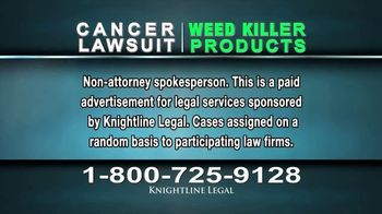 Knightline Legal TV Spot, 'Weed Killer Products' - Thumbnail 2