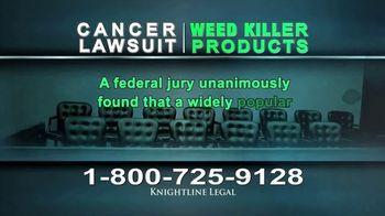 Knightline Legal TV Spot, 'Weed Killer Products' - Thumbnail 3