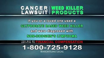 Knightline Legal TV Spot, 'Weed Killer Products' - Thumbnail 5