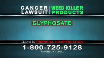 Knightline Legal TV Spot, 'Weed Killer Products' - Thumbnail 6